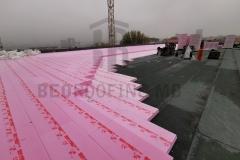 XPS termoizolacione ploče u dva sloja, na ravnom krovu