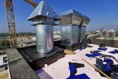 Hidroizolacija ventilacionih prodora kroz ravan krov sa samolepljivim bitumenskim trakama