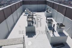 Hidroizolaciona obrada krova na kuli 1 sintetičkom PVC membranom