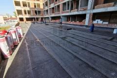 Bitumenska parna brana sa uloškom od aluminijumske folije, na atriumu/ravnom krovu