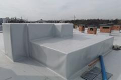 Hidroizolaciona obrada prodora kroz ravan krov sa sintetičkom PVC membranom