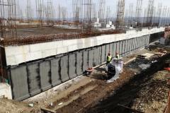 Hidroizolacija ukopanog zida bitumenskim trakama u dva sloja