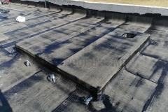 Bitumenska parna brana sa uloškom od aluminijumske folije, na ravnom krovu